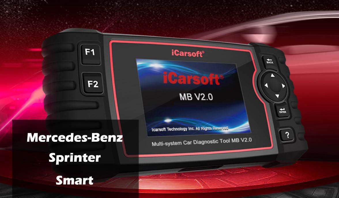 icarsoft feilkodeleser for mercedes benz sprinter smart icarsoft mb v2 0. Black Bedroom Furniture Sets. Home Design Ideas